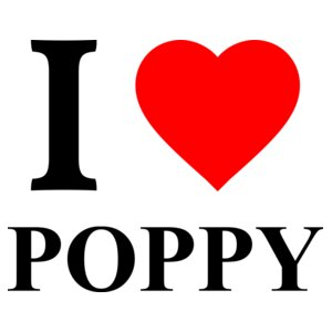 I Love Poppy - Heart