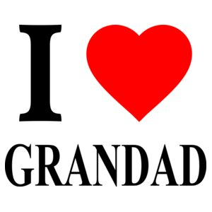 I Love Grandad - Heart