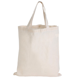 Short Handle Calico Bag
